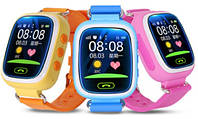 """Детские смарт-часы Q80 с GPS и дисплеем 1.44"""", умные часы для ребенка, фото 1"""