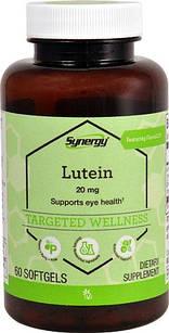 Vitacost Synergy Lutein + Zeaxanthin FloraGLO® Lutein 20 mg 60 ЖК