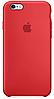 ✅Чехол Apple Silicone Case Carmine Red для iPhone 6 / 6S