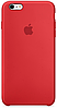 ✅Чехол Apple Silicone Case PRODUCT Red (MKY32) для iPhone  6 / 6S