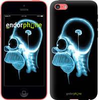 """Чехол на iPhone 5c Гомер. Томография """"652c-23-8956"""""""
