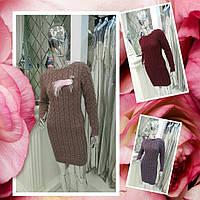 ХИТ СЕЗОНА!!!  Осень зима Новая коллекция вязаных платьев из натуральной шерсти!