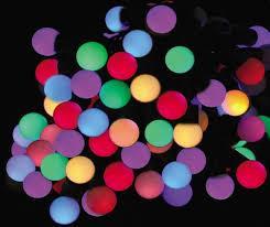 Новогодняя гирлянда Шарики 88 LED 10,7 м 2,3 см