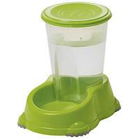 Moderna МОДЕРНА СМАРТ автоматическая поилка для собак и кошек, 29х19х26 см, 3 л , ярко-зеленый см.