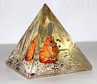 Подставка для ручек - Пирамида с Собачкой