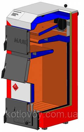 Твердотопливный котел Маяк АОТ Стандарт Плюс (STANDARD PLUS), фото 2