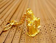 "Брелок ""Тай Сен"" металл под золото (L = 10 см)"