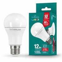 LED лампа Videx Titanium A60 12W E27 4100K 220V