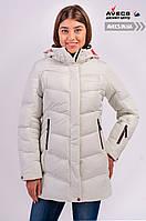 Женская зимняя куртка Avecs 7749811 White наполнитель тинсулейт очень теплая недорого | Avecs куртка размер
