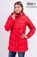 Женская зимняя куртка Avecs 7749811 Red наполнитель тинсулейт защита от холода недорого | Avecs куртка размер 42 XS