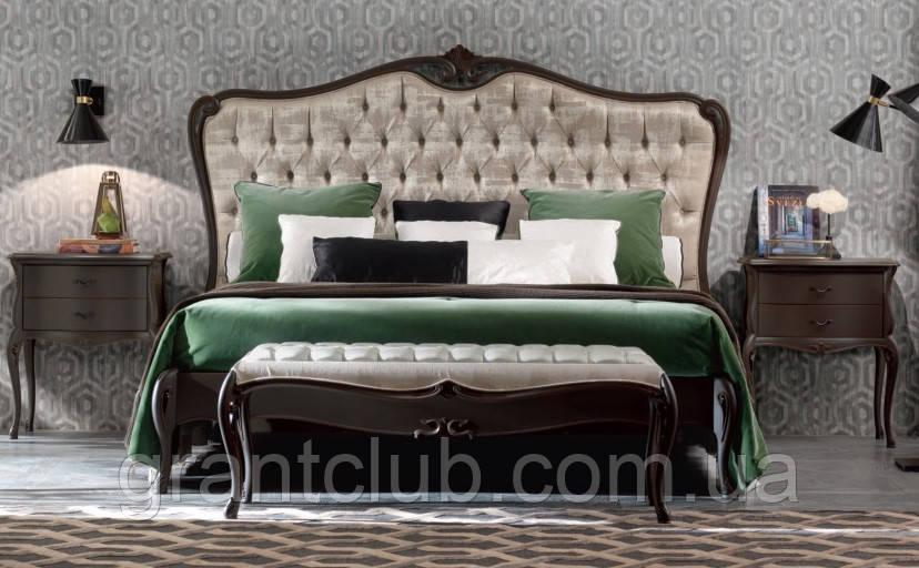 Элитные кровати с натурального дерева
