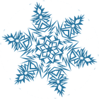 Вафельні картинки Сніжинки