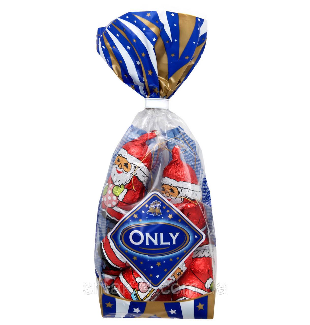 Шоколадные игрушки на елку Санта Клаусы (Николайчики) Onli  Австрия 100 г