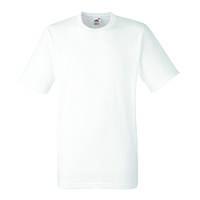 Мужская футболка белая хеви (очень плотная)