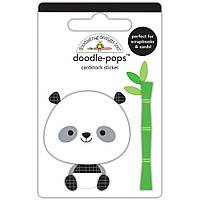 Наклейки 3D - Doodlebug - At The Zoo Polly Panda
