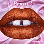 Помада Lime Crime Perlees Metallic 'Penny', фото 2