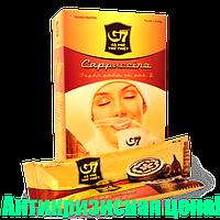 """Вьетнамский натуральный растворимый кофе G7 """"Cappuccino Mocha"""", 12 пакетиков"""