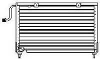 Радиатор кондиционера  Mazda 626 GD