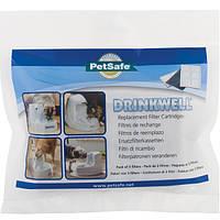 PetSafe Drinkwell FILTER ПЕТСЕЙФ ДРИНКВЕЛЛ сменный угольный фильтр в фонтанчик поилку на 1,2л и 5л, в комплекте 3 шт.