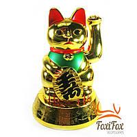 Кошка Манэки Нэко машет лапой 16,5 см