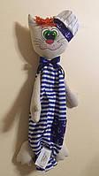 "Іграшка сумка дитяча ""Кіт Муркіт"" для зберігання піжами"