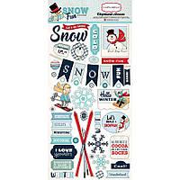 Чіпборд - Carta Bella - Snow Fun - 6X13