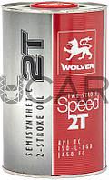 Wolver Two Stroke Speed 2T масло для 2-х тактных двигателей, 1 л
