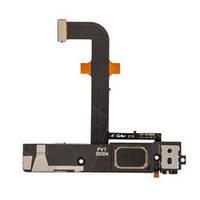 Шлейф (Flat cable) Lenovo K900 с разъемом зарядки, разъемом наушников, полифоническим динамиком