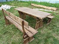 Купить стол с лавками  в Украине, фото 1