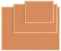 Доска пробковая деревянная рамка 45х60  BM.0013
