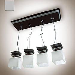 Люстра металлическая для высоких потолков 10804-1