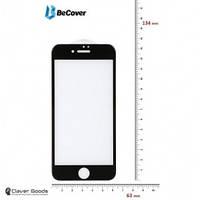 Защитное стекло для телефона BeCover Защитное стекло для Apple iPhone 7 3D Black (701040)