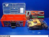 Набор инструментов 2060 (18шт) дрель, молоток, пила, в чемоданчике 32*16*14см