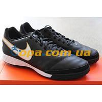 Кожаные сороконожки Nike Tiempo Genio II TF 819216-010, фото 1