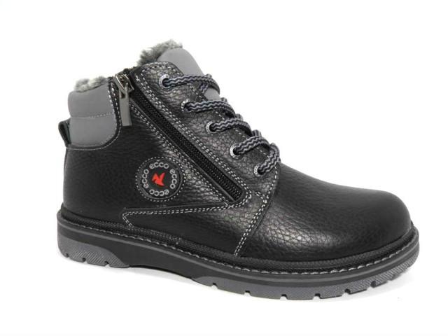 Черевики підліткові Barzoni Ecco 509 чорні