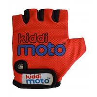 Перчатки детские Kiddimoto красные, размер S на возраст 2-4 года