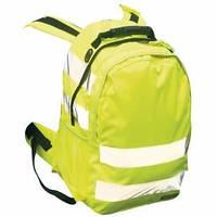 Рюкзак светоотражающий мод.В905 желтого цвета