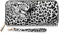 03-15 Черный леопардовый женский клатч Fae