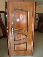 Двері вхідні китайські з мінеральною ватою, фото 1