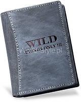 04-22 Серый мужской бумажник Kuonjamtiva