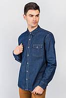 Рубашка мужская джинс AG-0004477 Темно-синий