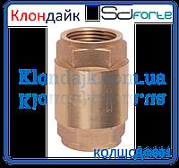 Клапан обратный с латунным штоком SD Forte 1/2