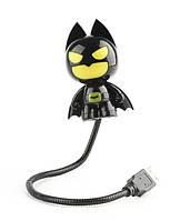 Светильник для ноутбука BatMan Бэтмен-астронавт черный