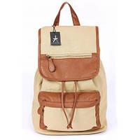 11-12 Бежевый женский рюкзак материал + кожа Primark Atmosphere Nilufer