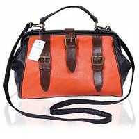 12-09 Черная женская сумка сундучок Primark Atmosphere Ven