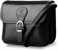 12-13 Черная итальянская женская сумка из натуральной кожи Badarma
