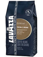 Кофе в зернах Lavazza Espresso Crema E Aroma (синяя), 1 кг