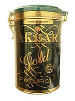 Чай Акбар Зеленое Золото  275 гр ж/б