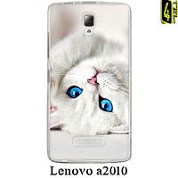 Чехол для Lenovo a2010, бампер, F046, котёнок