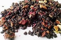 Чай зеленый Саусеп-клубника (ганпаудер)